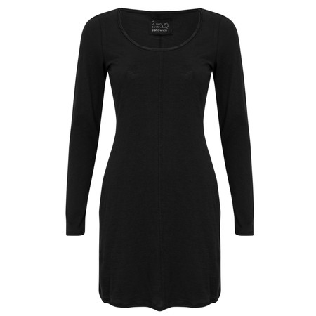Sandwich Clothing Cotton Slub Jersey Dress - Black