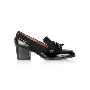 HB Shoes Amanda Brogue Tassel Loafer