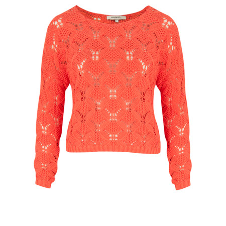 Sandwich Clothing Cotton Tape Pullover - Orange