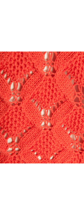 Sandwich Clothing Cotton Tape Pullover Warm Coral
