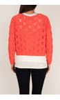 Sandwich Clothing Warm Coral Cotton Tape Pullover