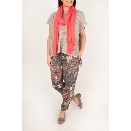 Masai Clothing Mosaic Print Paris Trouser - 551-watermelon Print