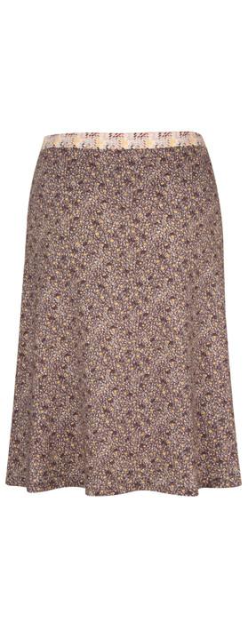 Avoca Perry Skirt Gold