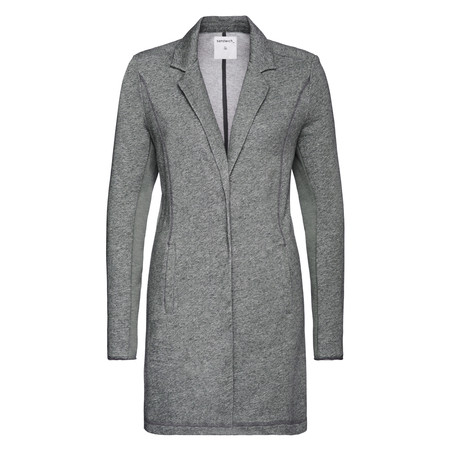 Sandwich Clothing French Terry Long Panelled Blazer - Grey