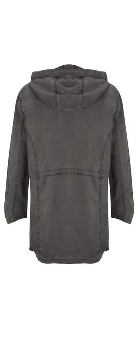 Sandwich Clothing Lightweight Linen Blend Jacket Iron
