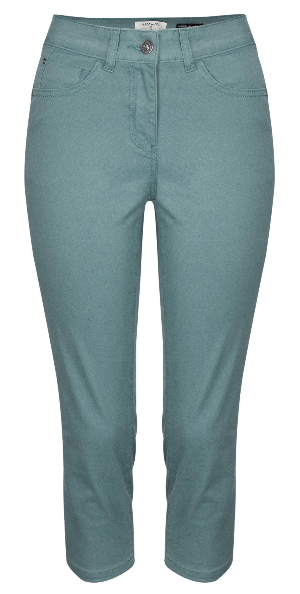 Antique Dye Cropped Trousers main image