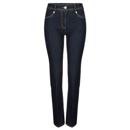 Robell Trousers Joella Slim Fit Flare Jean - Blue