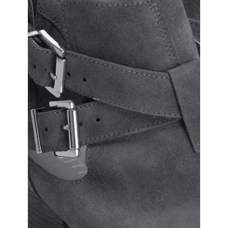 KMB Naval Buckle Boot - Grey