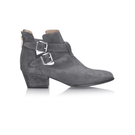 KMB Naval Buckle Boot - Grey