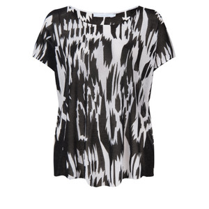 Lauren Vidal Inka Short Sleeve Top