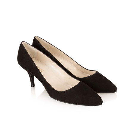 Gemini by Cefalu Isa Suede Shoe - Black