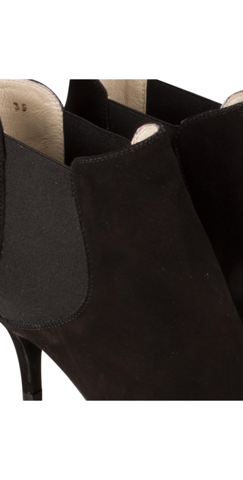 Ilirio Suede Kitten Heel Ankle Boot main image