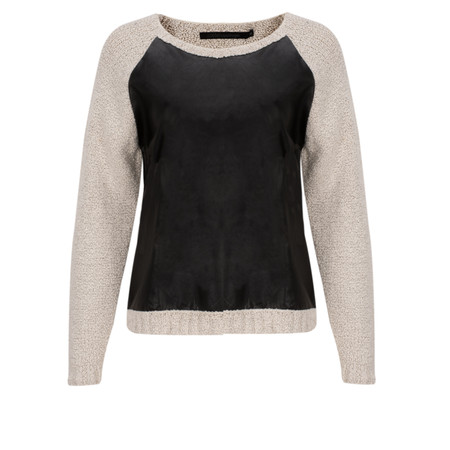 Coster Copenhagen Popcorn Knit Top - Off-white