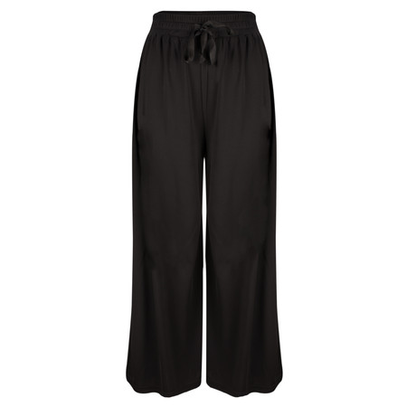 Coster Copenhagen Wide Leg Trouser - Black