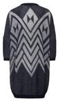 Sandwich Clothing Mood Indigo Tape Knitting Cardigan