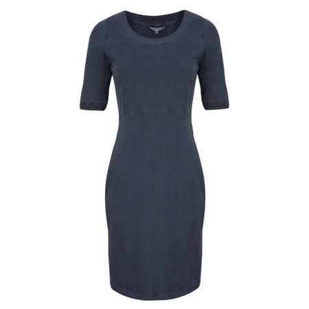 Sandwich Clothing Single Jersey Dress  - Blue
