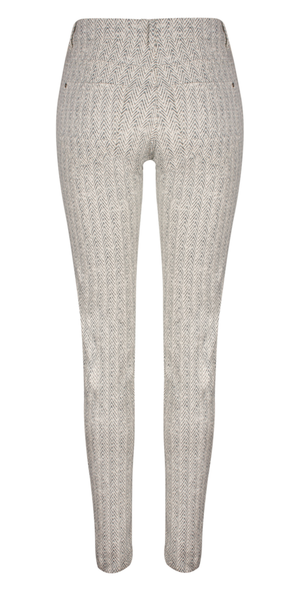 Printed Stretch Twill Trouser main image