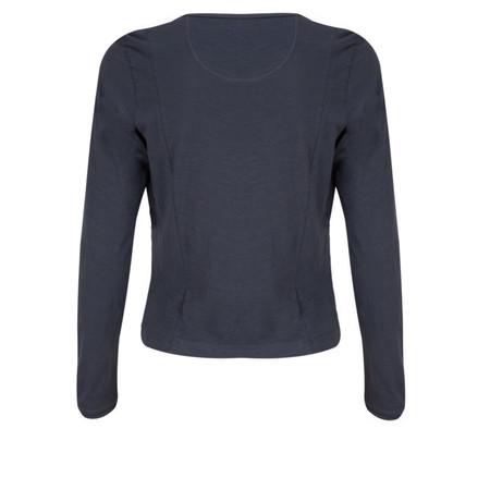 Sandwich Clothing Cotton Slub Jersey Cardigan  - Blue
