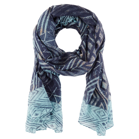 Sandwich Clothing Esther Weave Woven Scarf - Blue