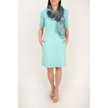 Sandwich Clothing Single Jersey Dress  - Angel Blue