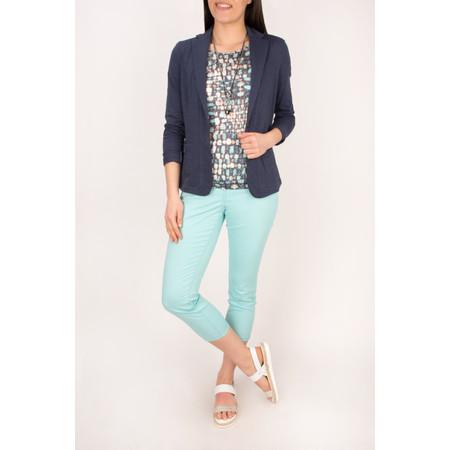 Sandwich Clothing Relaxed Cotton Slub Jersey Blazer - Blue