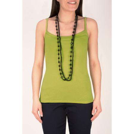 Masai Clothing Essential Egle Strap Top - Green