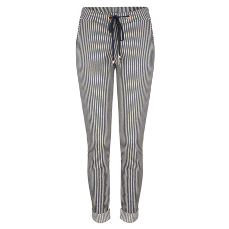 Sandwich Clothing Striped Jersey Trousers - Blue