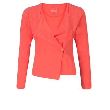 Sandwich Clothing Cotton Slub Jersey Cardigan - Paradise Pink