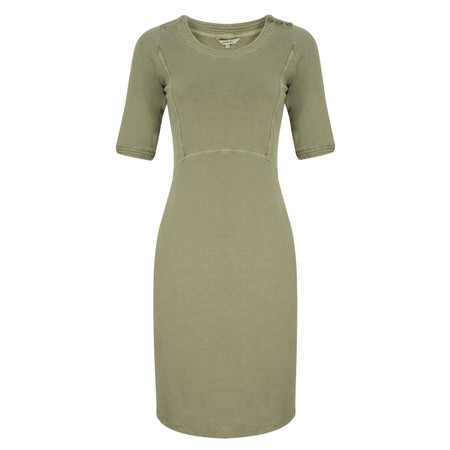 Sandwich Clothing Single Jersey Dress - Green