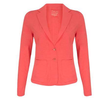 Sandwich Clothing Relaxed Cotton Slub Jersey Blazer - Paradise Pink