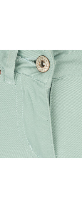Sandwich Clothing Casual Crop Trouser Blue Haze