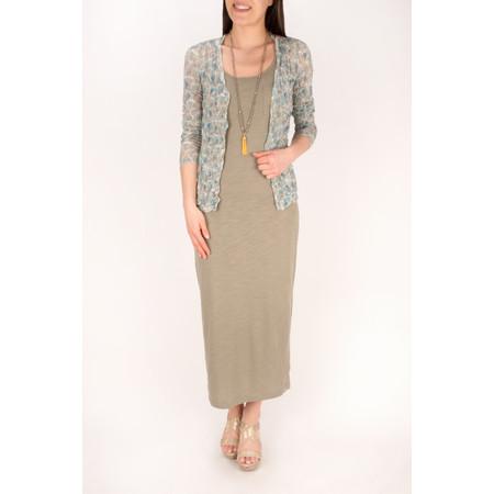 Sandwich Clothing Cotton Slub Jersey Dress - Green