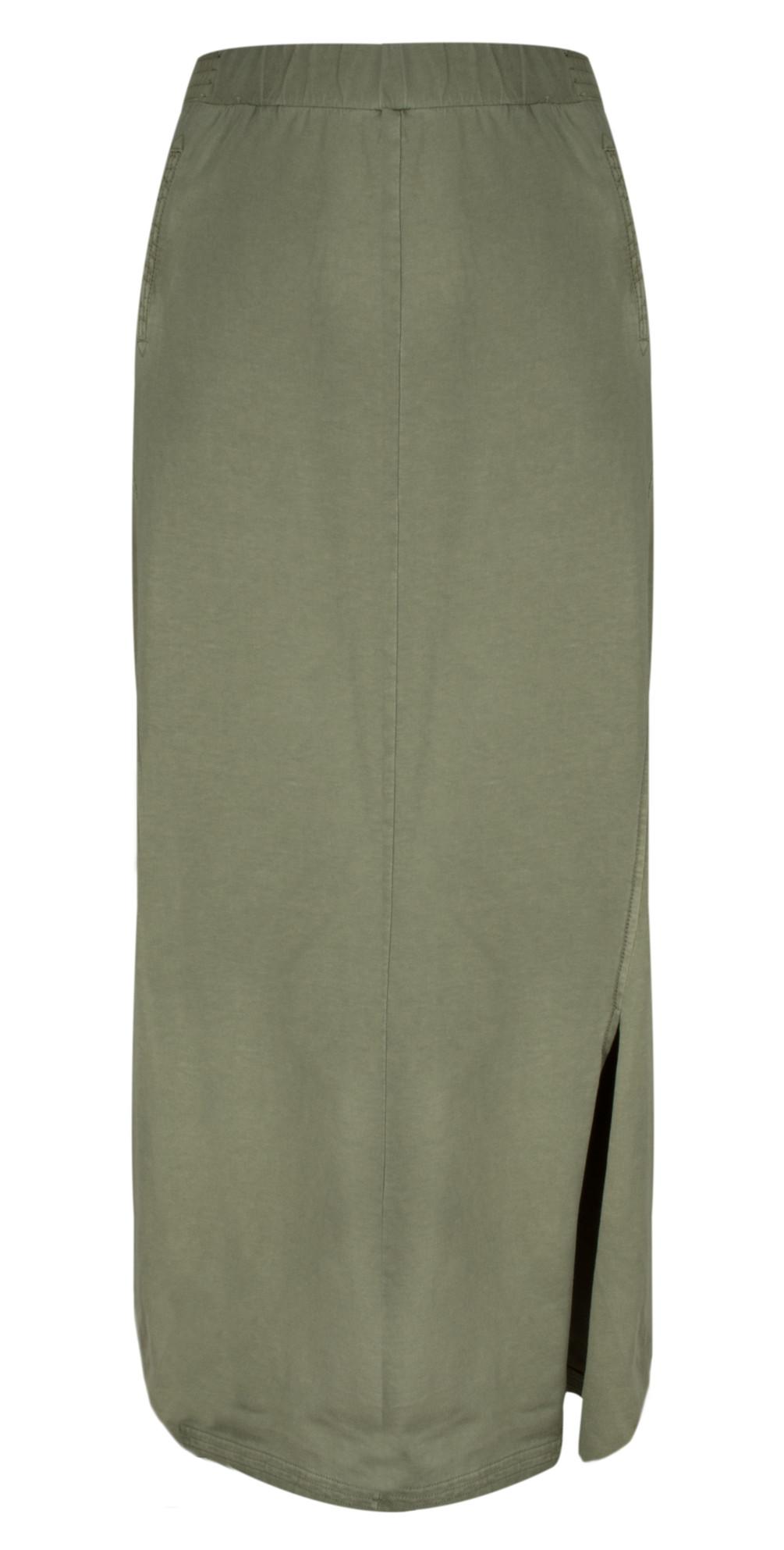 Jersey Maxi Skirt main image