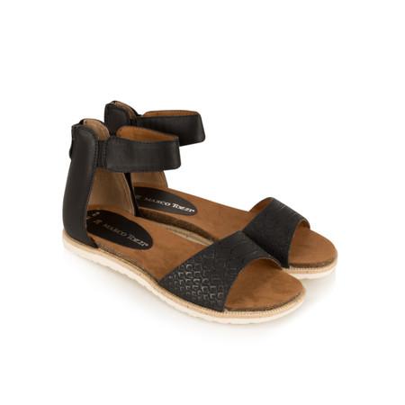 Marco Tozzi Gladiator Sandal - Black
