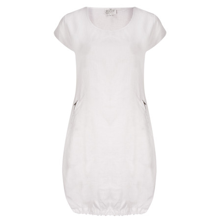 Masai Clothing Gerdy Linen Tunic - White