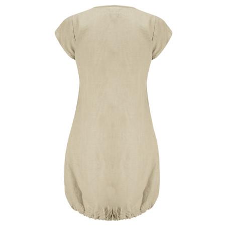 Masai Clothing Gerdy Linen Tunic - Beige
