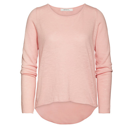 Sandwich Clothing Lightweight Cotton Pullover - Pink