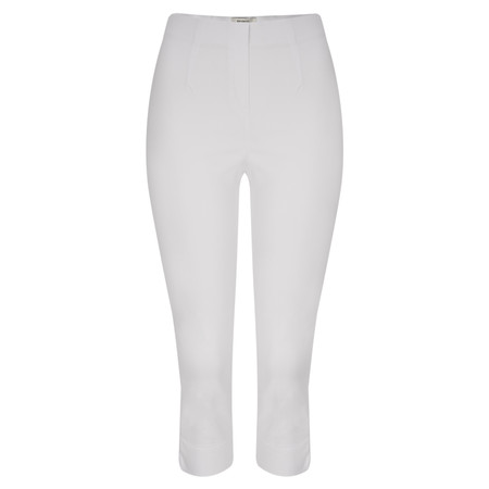 Sandwich Clothing Cropped Stretch Trouser - White