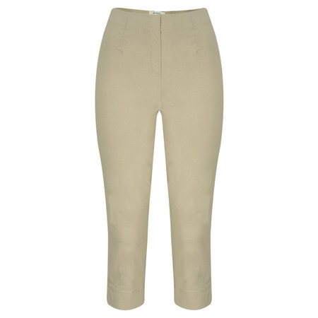 Sandwich Clothing Cropped Stretch Trouser - Brown