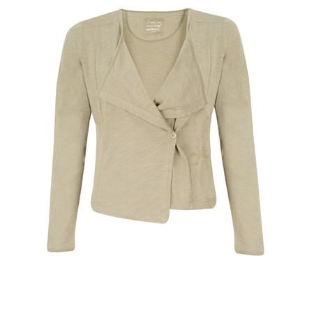 Sandwich Clothing Cotton Slub Jersey Cardigan - Brown