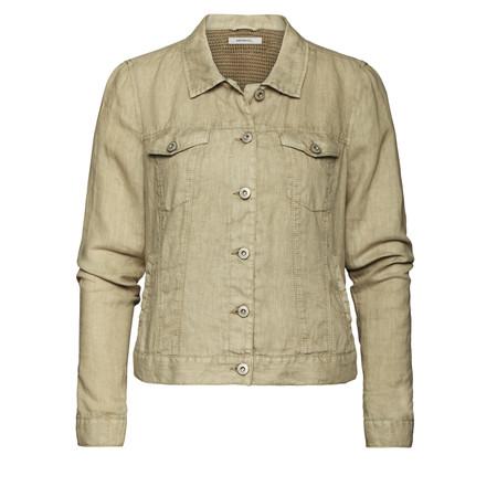 Sandwich Clothing Linen Jacket - Brown