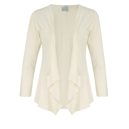 Masai Clothing Iada Cardigan - Off-white
