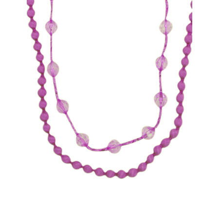 Masai Clothing Agape Necklace - Pink