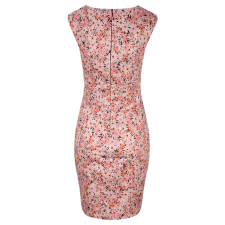 French Connection Bacongo Daisy Floral Dress - Pink