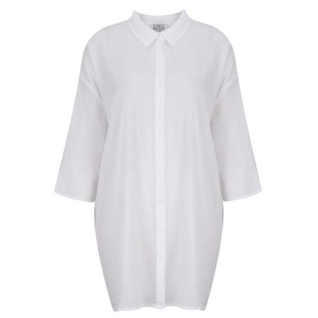 Masai Clothing Illana White Blouse - White