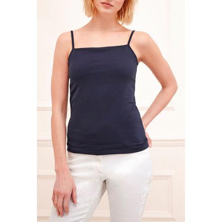 Great Plains Classic Cotton Lycra Camisole - Blue