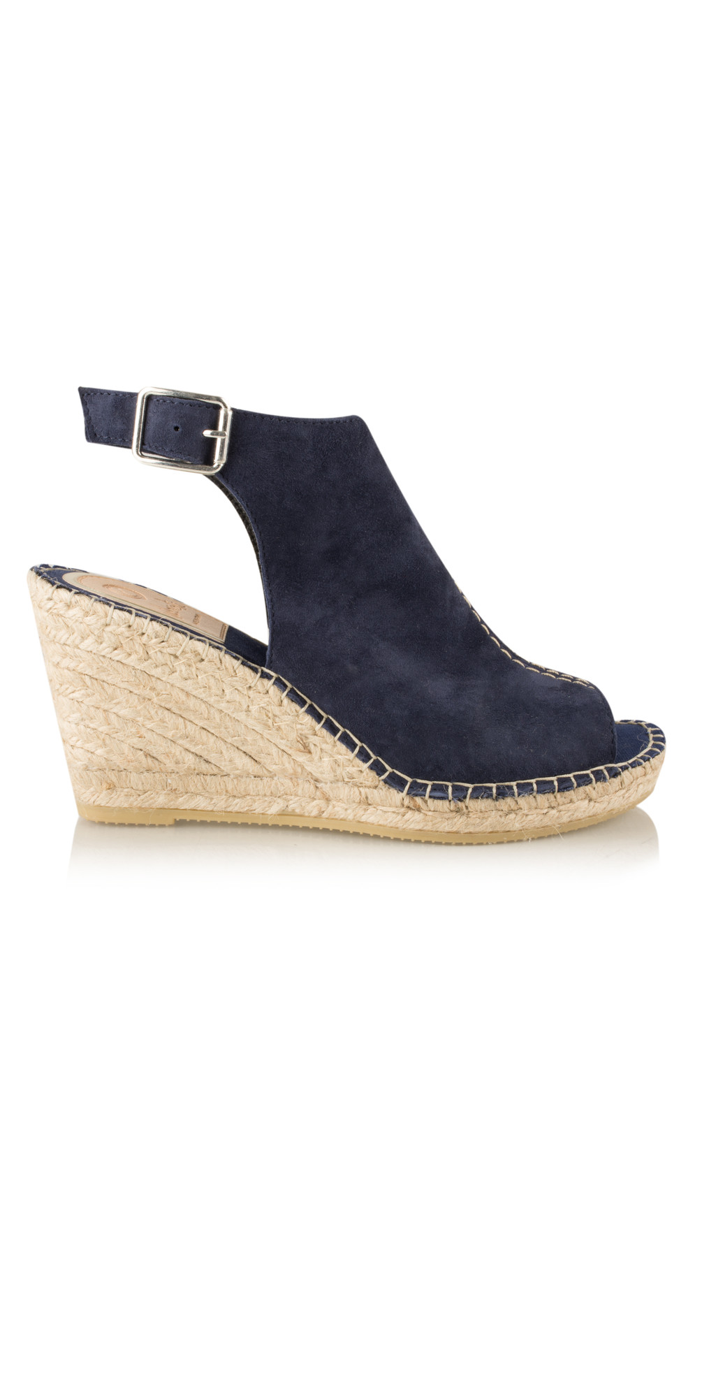 c700fbb6a8d Marino Navy Cipres Mule Wedge Espadrille