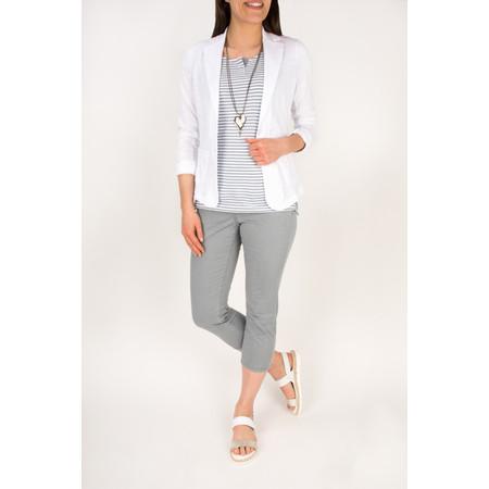Sandwich Clothing Relaxed Cotton Slub Jersey Blazer - White