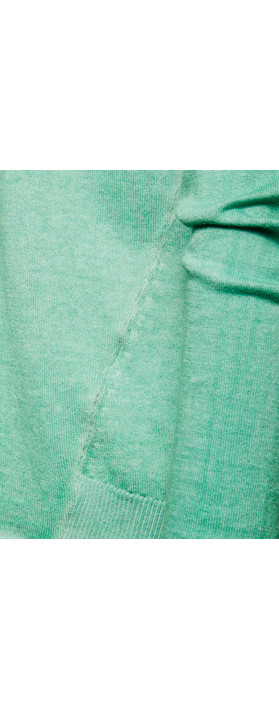 Sandwich Clothing Basic Cotton Pullover Wasabi