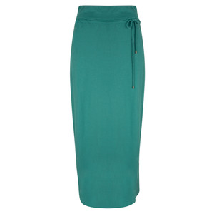 Sandwich Clothing Long Jersey Wrap Effect Skirt